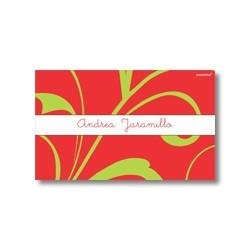 Tarjeta de navidad - Flores