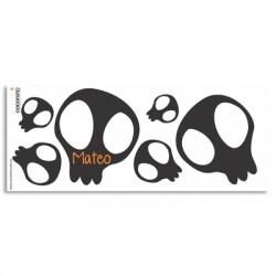 TZ0005 - Pocillo mugs - Calaveras