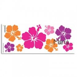 TZ0007 - Pocillo mugs - Flores