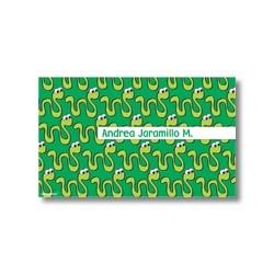 p1404 - Tarjetas de presentación - Serpiente