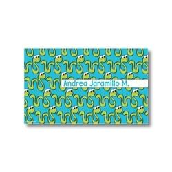 Label cards - Snake