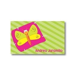 p1601 - Tarjetas de presentación - Mariposa