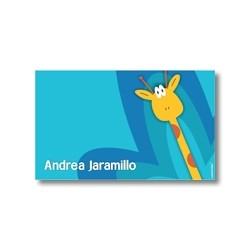 p2009 - Tarjetas de presentación - Jirafa
