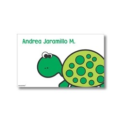 Label cards - turtle
