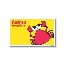 p2203 - Tarjetas de presentación - Cangrejo
