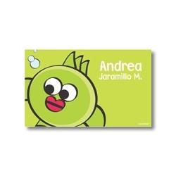 p2207 verde - Tarjetas de presentación - Peces