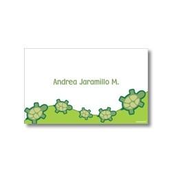 p2306 - Tarjetas de presentación - Tortugas