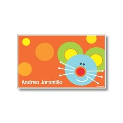 p2910 naranja - Tarjetas de presentación - Ratón