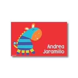 Label cards - zebra