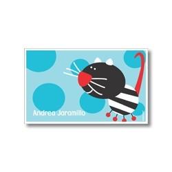 Label cards - cat