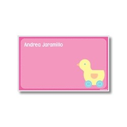 p5009 rosada - Tarjetas de presentación - Pato