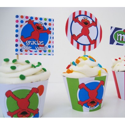 Toppers para cupcakes