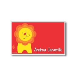 p5205 rojo - Tarjetas de presentación - León