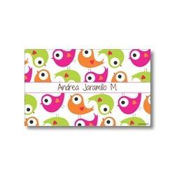 p6708 - Tarjetas de presentación - Pájaro