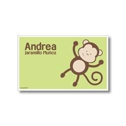 p6810 verde - Tarjetas de presentación - Mono