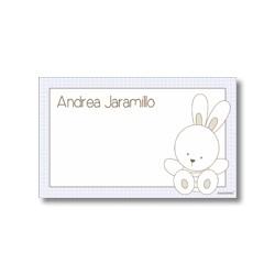 p7202 azul - Tarjetas de presentación - Conejo