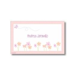p5202 - Tarjetas de presentación - Flores