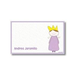 p6601 - Tarjetas de presentación - Princesa