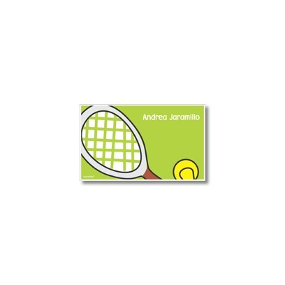 p6405 verde - Tarjetas de presentación - Tenis