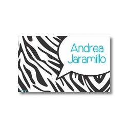 p0006 - Tarjetas de presentación - Animal Print