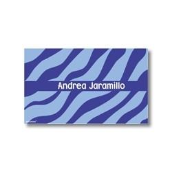 p0510 - Tarjetas de presentación - Animal Print