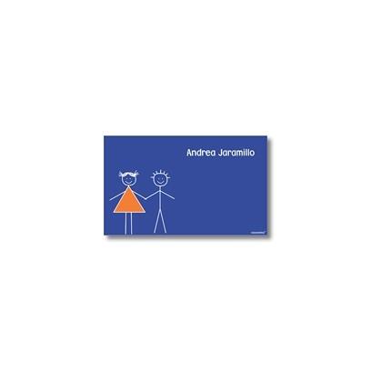 p0103 - Tarjetas de presentación - Hermanitos