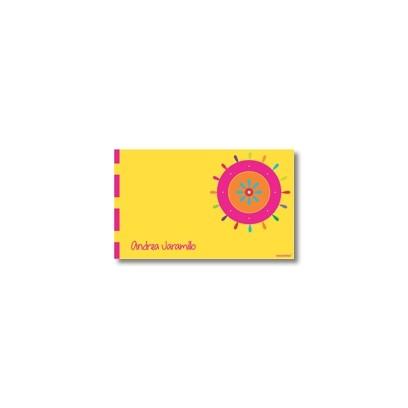 p2503 - Tarjetas de presentación - Flores