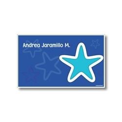 p3202 - Tarjetas de presentación - Estrellas