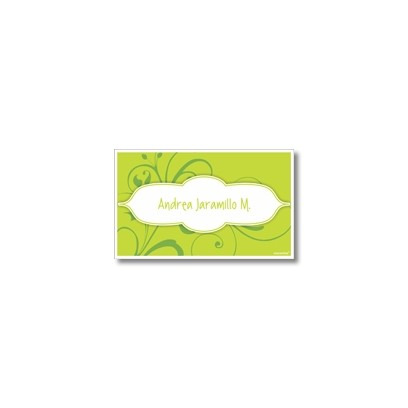 p3308 - Tarjetas de presentación - Flores