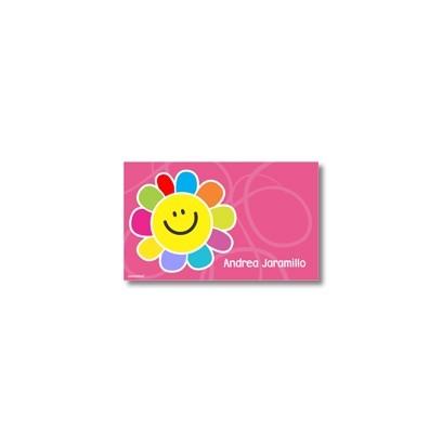 p3504 - Tarjetas de presentación - Flores