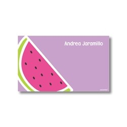 Label cards - watermelon