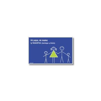 p3808 - Tarjetas de presentación - Familia