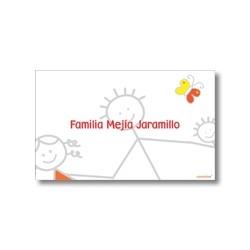 p3809 - Tarjetas de presentación - Familia