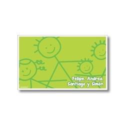 p3810 - Tarjetas de presentación - Familia