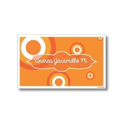p4004 - Tarjetas de presentación - Círculos