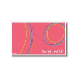 p5604 - Tarjetas de presentación - Circulos