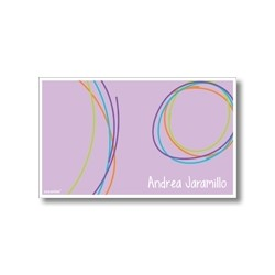 Label cards - circles