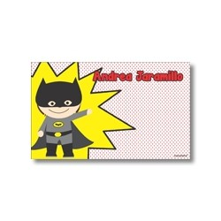 p9007 - Tarjetas de presentación - Super heroes