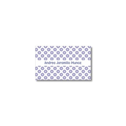 p0205  - Tarjetas de presentación - Flores