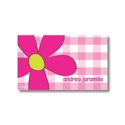 p1904  Tarjetas de presentación - Flores