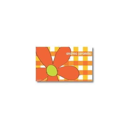 p1904 - Tarjetas de presentación - Flores