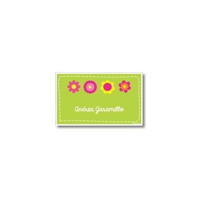 p5206  - Tarjetas de presentación - Flores