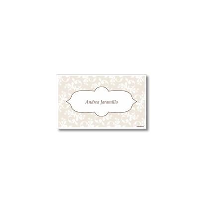 p8606 - Tarjetas de presentación - Flores