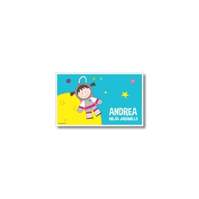 p9110 Label cards - Space
