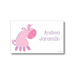p9204 Label cards - unicorn