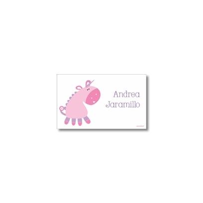 p9204 Label cards - unicorn