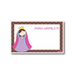 Label cards - Virgin of Guadalupe