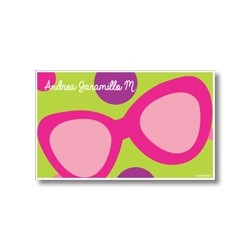 Label cards - sunGlasses