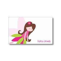 p7209 rosado - Tarjetas de presentación - Hadas