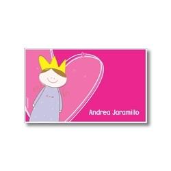 p6602 - Tarjetas de presentación - Princesas